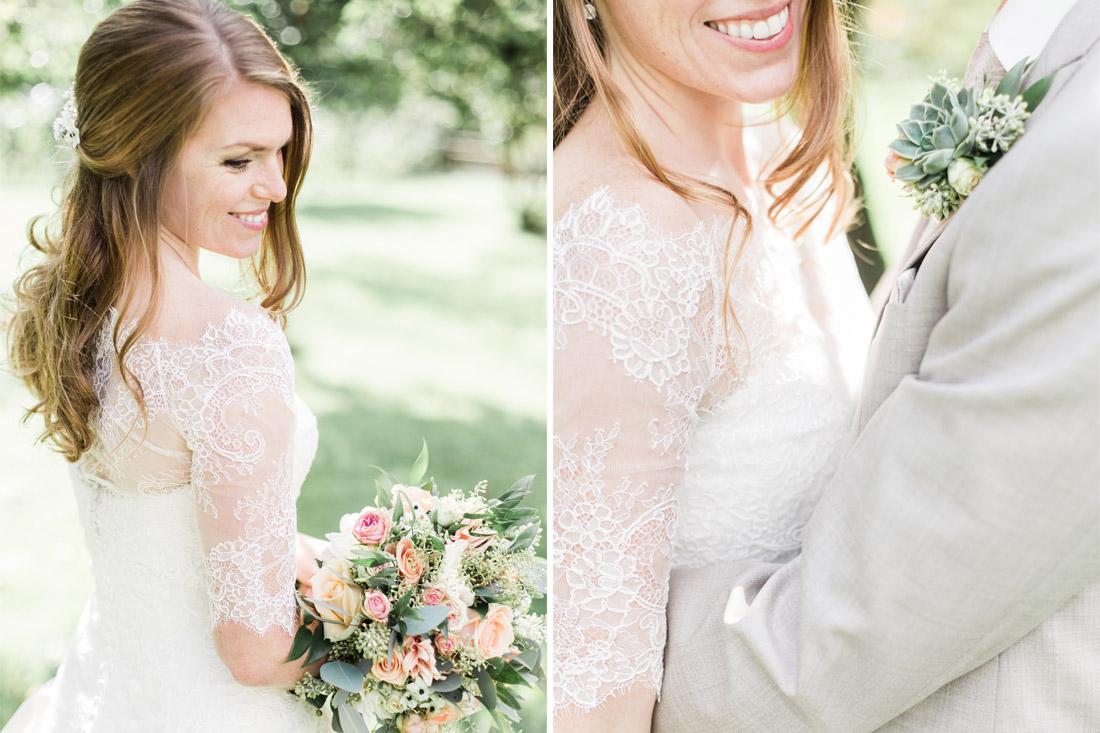 Fine art bruidsfotograaf fotograaf bruiloft licht fris pastel milou van ham fotografie - Chique landhuis ...